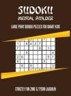 Sudoku Mental Builder: Large Print Sudoku Puzzles For Smart Kids Cover Image