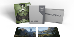 The Art of Halo Infinite Deluxe Edition Cover Image