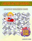 Labour Day 2020 Learning: Activity Coloring Books 50 Image Axe, Cone, Laborman, Plumber, Hammer, Sign, Wrench, Laborwoman For Grown Ups Image Qu Cover Image