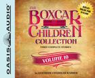 The Boxcar Children Collection Volume 10 (Library Edition): The Mystery Girl, The Mystery Cruise, The Disappearing Friend Mystery Cover Image