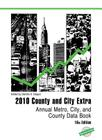 County and City Extra: Annual Metro, City, and County Data Book Cover Image