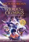 The Heroes of Olympus Paperback Boxed Set (10th Anniversary Edition) Cover Image