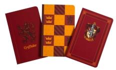 Harry Potter: Gryffindor Pocket Notebook Collection (Set of 3) Cover Image