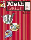 Math Skills, Grade 4 (Harcourt Family Learning) Cover Image