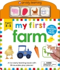 My First Play and Learn: Farm: A Fun Early Learning Book with Reusable Play Pieces Cover Image