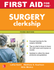 First Aid for the Surgery Clerkship, Third Edition Cover Image