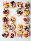 Notebook: cupcake desserts sweets food fruits flower dessert cooking Cover Image