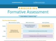 Embedding Formative Assessment Quick Reference Guide Cover Image