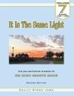 It Is The Same Light (Vol.7): The Enlightening Wisdom of Sri Guru Granth Sahib Cover Image