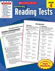 Scholastic Success With Reading Tests: Grade 4 Workbook Cover Image