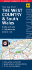 West Country & Wales Road Map Cover Image