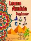 Learn arabic: Arabic alphabet Learn arabic for kids Arabic for beginners Arabic writing alphabet Cover Image