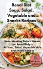 Renal Diet Soup, Salad, Vegetable Main and Snacks Recipes: Understanding Kidney Disease and Avoid Dialysis. 46 Soup, Salad, Vegetable Main and Snacks Cover Image