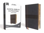 Nbla Santa Biblia Ultrafina, Letra Grande, Tamaño Manual, Leathersoft, Azul, Edición Letra Roja Cover Image