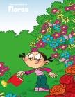Livro para Colorir de Flores Cover Image
