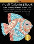 Adult Coloring Book: Stress Relieving Beautiful Designs (Vol. 7): Animals, Mandalas, Landscapes, Flowers, People, Objects, Paisley Patterns Cover Image