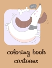 coloring book cartoons: Children Coloring and Activity Books for Kids Ages 2-4, 4-8, Boys, Girls, Christmas Ideals Cover Image
