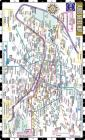 Streetwise Paris Metro Map - Laminated Metro Map of Paris, France (Michelin Streetwise Maps) Cover Image