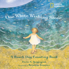 One White Wishing Stone: A Beach Day Counting Book Cover Image