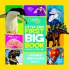 National Geographic Little Kids First Big Book Collector's Set: Animals, Dinosaurs, Why? (National Geographic Little Kids First Big Books) Cover Image
