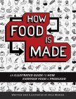 How Food is Made: An illustrated guide to how everyday food is produced Cover Image