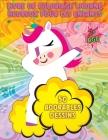 Livre de Coloriage Licorne Heureux Pour Les Enfants: Adorables licornes - 50 adorables dessins de licornes pour garçons et filles - Pour enfants de 2 Cover Image