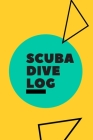 Scuba Dive Log: Diver Pro Logbook with World Map for Experienced Divers. You can log over 100 dives. Cover Image