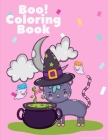 Boo! Coloring Book: Trick or Treat Drawing for kids children boys girls Cover Image