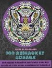 100 animaux et oiseaux - Livre de coloriage - 100 dessins d'animaux Zentangle avec des motifs de style henné, cachemire et mandala Cover Image