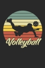 Volleyball: Notebook/Diary/Organizer/120 checked pages/ 6x9 inch Cover Image