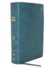 Net Bible, Full-Notes Edition, Leathersoft, Teal, Indexed, Comfort Print: Holy Bible Cover Image