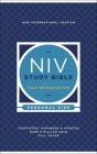 NIV Study Bible, Fully Revised Edition, Personal Size, Hardcover, Red Letter, Comfort Print Cover Image