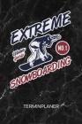 Terminplaner: Winter Sportler Kalender Mo. bis So. - Outdoor Sport Terminkalender - Skipiste Wochenplaner Wintersport Taschenkalende Cover Image