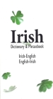 Irish-English English-Irish Dictionary & Phrasebook Cover Image