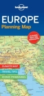 Lonely Planet Europe Planning Map 1 (Planning Maps) Cover Image