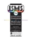 72nd International Symposium on Molecular Spectroscopy Cover Image