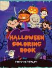 Halloween Coloring Book: Kids Halloween Book, Fun for All Ages (Kids Coloring Books) Cover Image