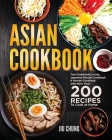 Asian Cookbook: Two Cookbooks in one, Japanese Ramen Cookbook & Korean Cookbook with more than 180 Recipes to Cook at Home Cover Image
