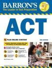 Barron's ACT with Online Tests (Barron's Test Prep) Cover Image