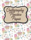 Calligraphy Practice Paper: Calligraphy Guide Paper, Calligraphy Training, Calligraphy Paper Pad For Beginners, Hand Lettering Practice Paper, Cut Cover Image