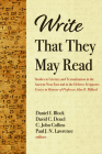 Write That They May Read Cover Image