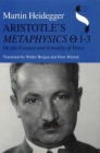 Aristotle's Metaphysics 1-3: On the Essence and Actuality of Force (Studies in Continental Thought) Cover Image