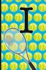 I: Tennis Monogram Initial Notebook for boys Letter I - 6