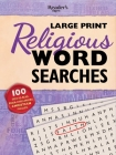 Reader's Digest Large Print Religious Word Search: 100 Easy-to-read Brain-challenging Christian puzzles Cover Image