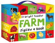 Bright Toddler: Farm Jigsaw and Book Set Cover Image