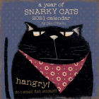 A Year of Snarky Cats 2021 Wall Calendar Cover Image
