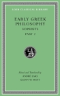 Early Greek Philosophy (Loeb Classical Library #532) Cover Image