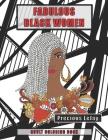 Fabulous Black Women: Adult Coloring Book Cover Image