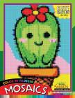Cute Cactus Lovers Mosaic: Pixel Adults Coloring Books Color by Number Cover Image