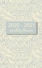 2020 - 2021 Monthly Planner: Larkspur Floral 2-Year Pocket Planner Cover Image